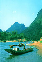 Nam Ou River, northern Laos