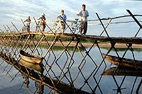 Bamboo Bridge, central Vietnam