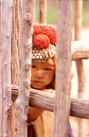 Yao child in Laos